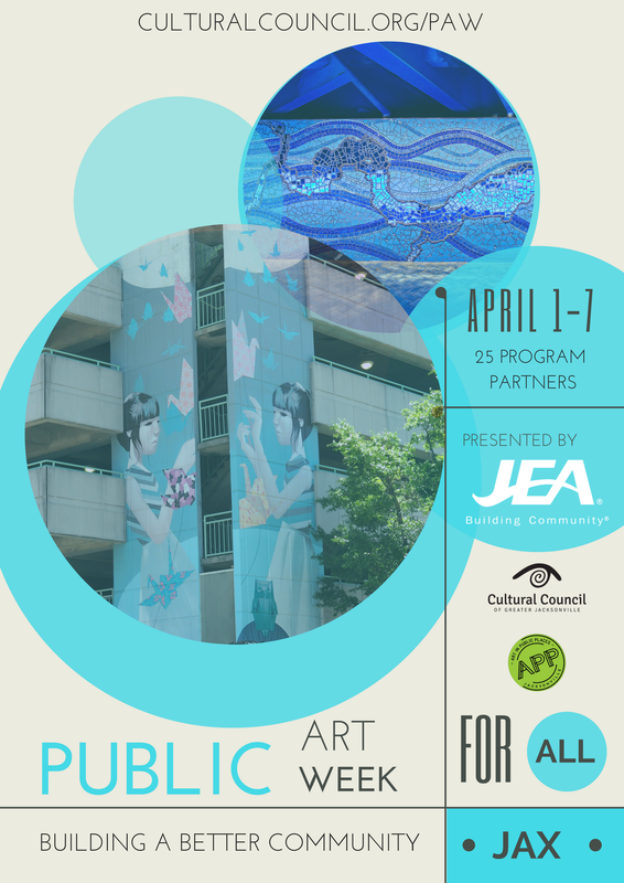 Public art week cultural council of greater jacksonville public art week 2018 is presented by solutioingenieria
